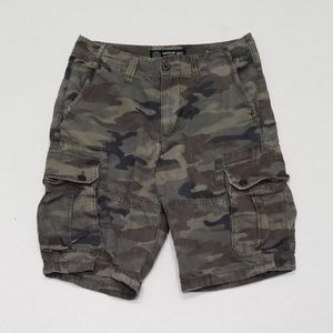 American Eagle mens 29 distressed cargo shorts